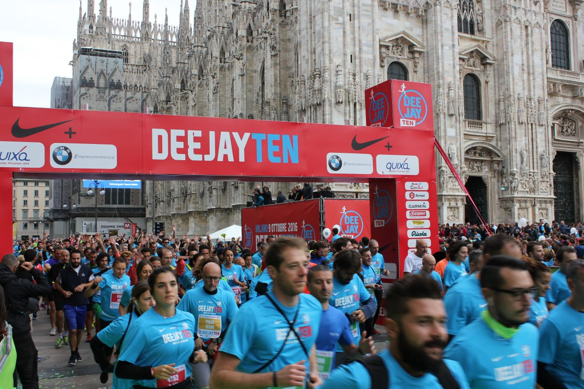 Runners alla Deejay Ten 2016
