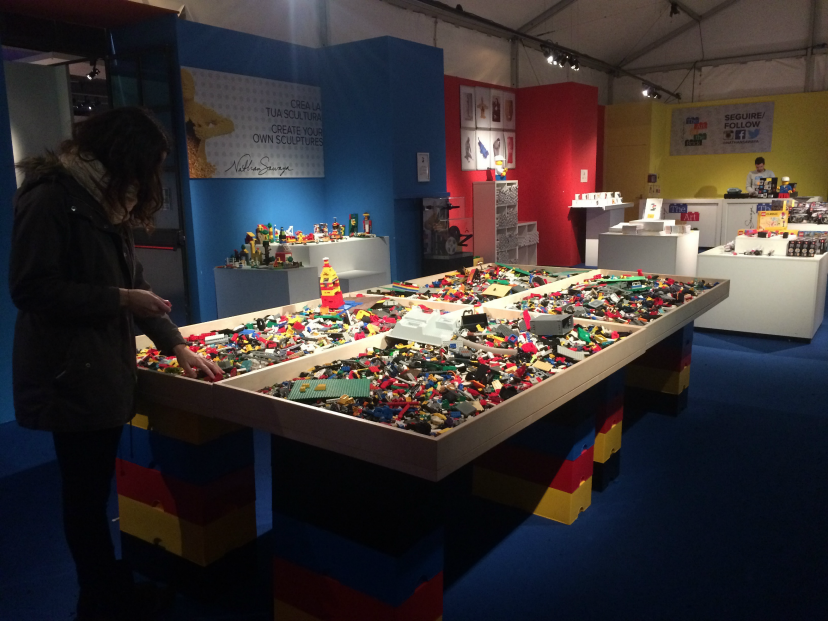 The Art of the Brick di Nathan Sawaya presso Fabbrica del Vapore di Milano