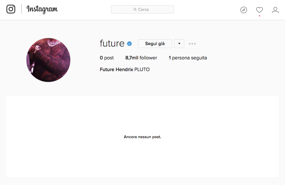 Instagram di Future