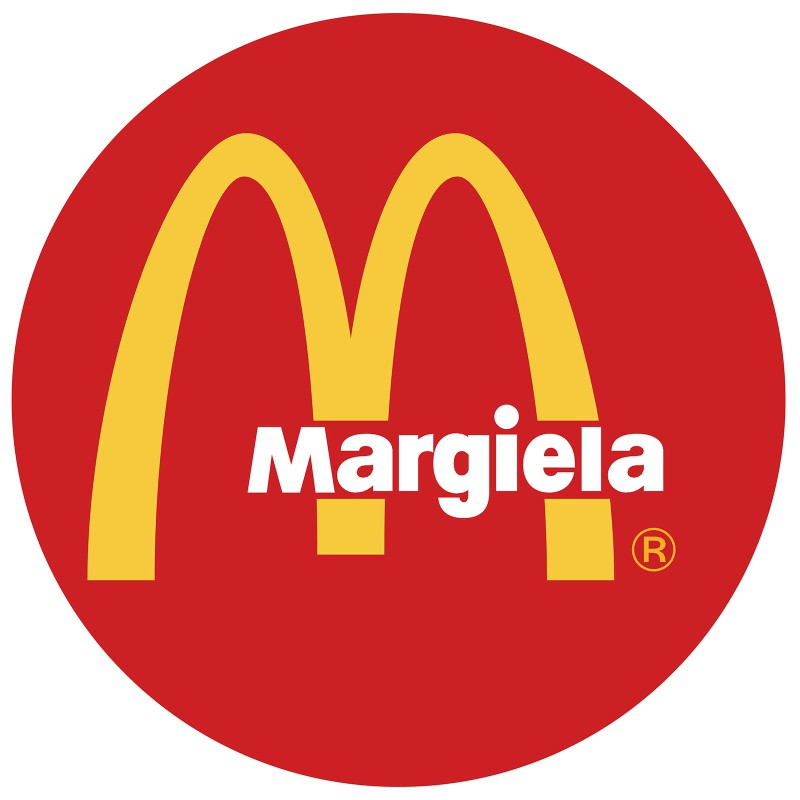 Margiela e McDonalds Logo Mix del graphic designer Reilly