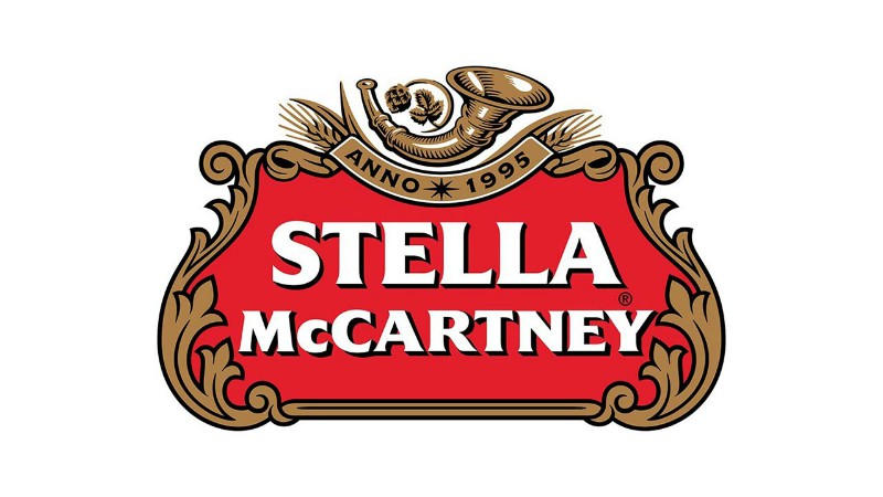 Stella Mc Cartney - Stella Artois Logo Mix del graphic designer Reilly