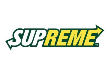 Supreme - Subway Logo Mix del graphic designer Reilly
